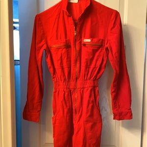 Pants - Vintage Red jumpsuit